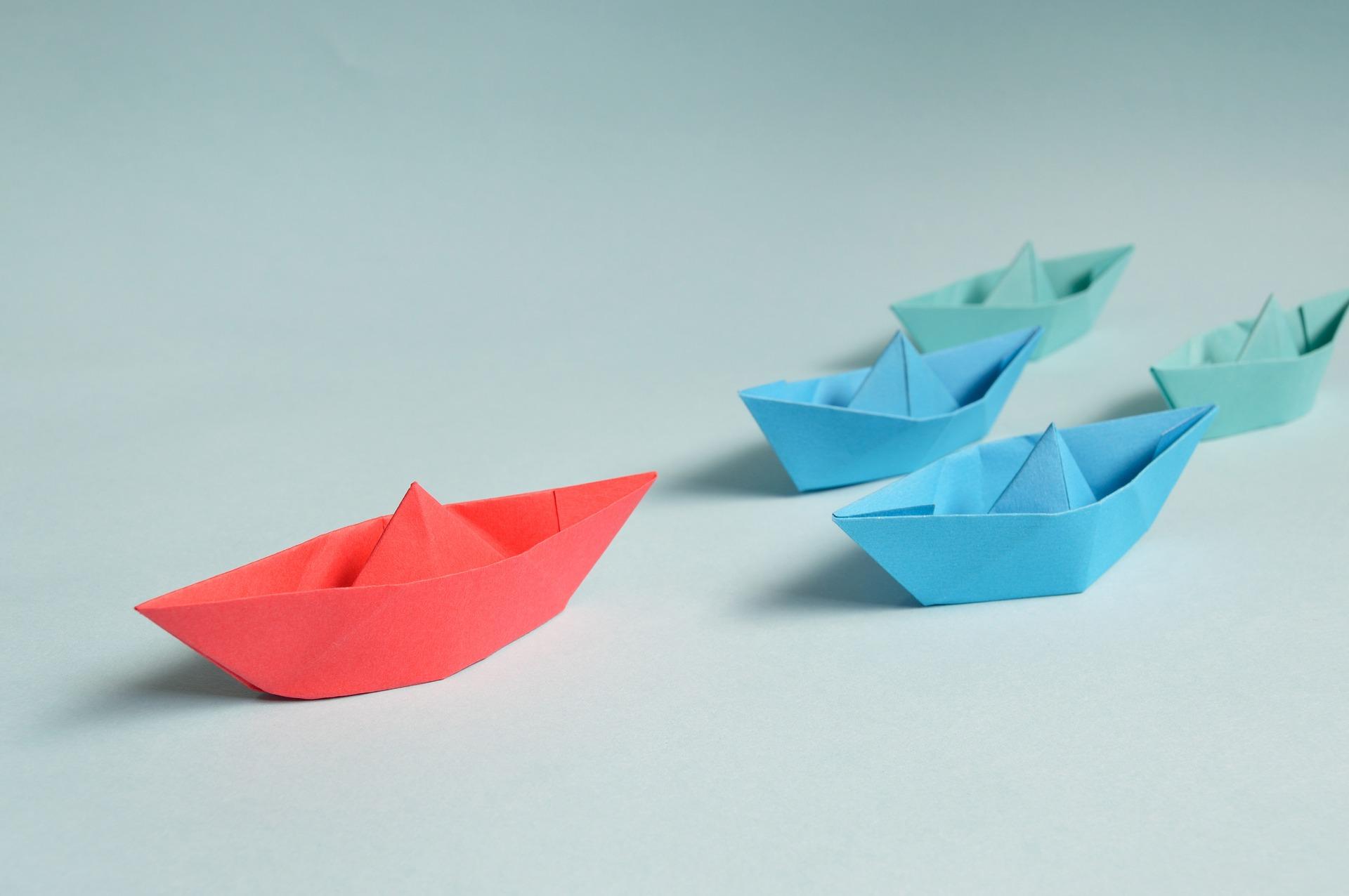 Animation avec origami