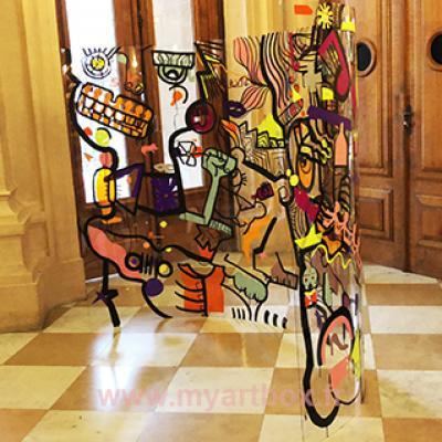 animation artistique Chamonix