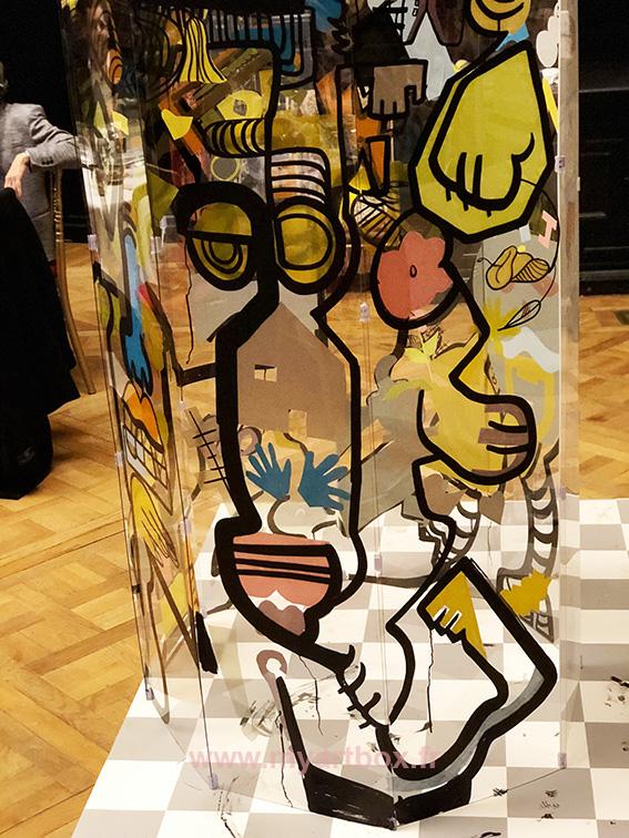 street artiste Renne