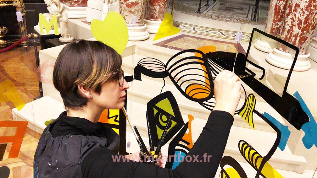team building fresque geante